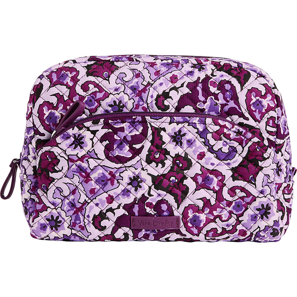 Vera Bradley Iconic Large Cosmetic Lilac Paisley - Vera Bradley Womens SLG Other - Women's SLG, Women's SLG Other
