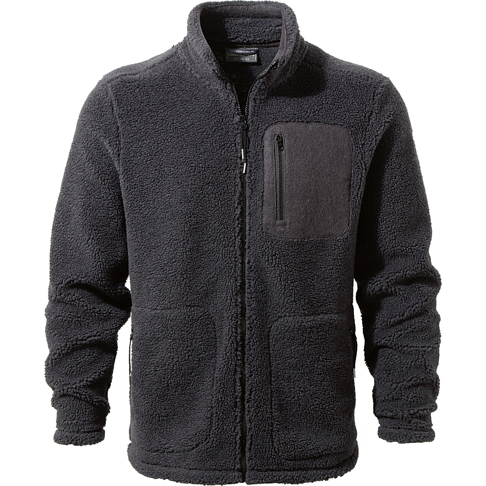 Craghoppers Edvin Jacket S - Black Pepper - Craghoppers Mens Apparel - Apparel & Footwear, Men's Apparel