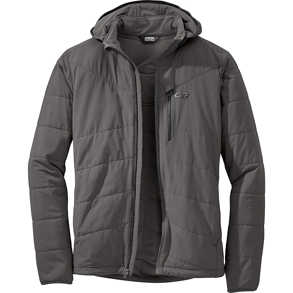 Outdoor Research Mens Winter Ferrosi Jacket M - Pewter - Outdoor Research Mens Apparel - Apparel & Footwear, Men's Apparel