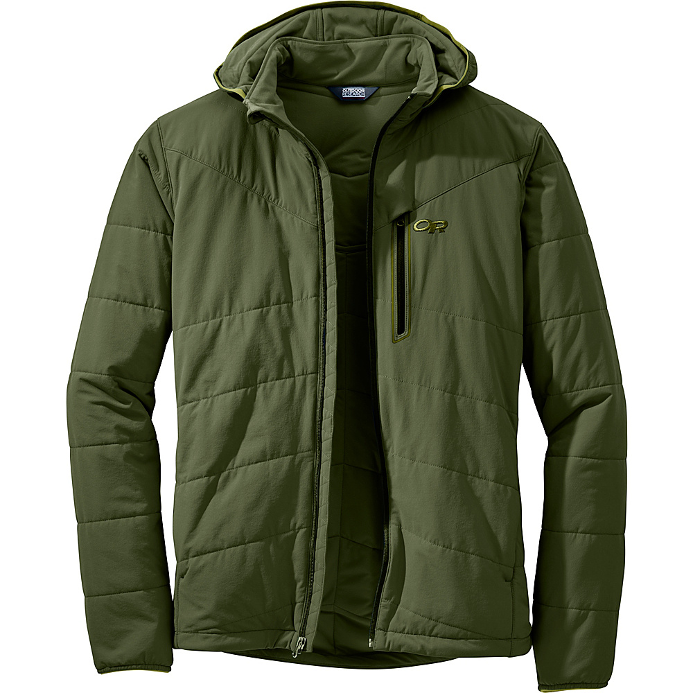 Outdoor Research Mens Winter Ferrosi Jacket S - Kale - Outdoor Research Mens Apparel - Apparel & Footwear, Men's Apparel