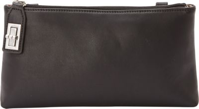 Samoe Samoe Locking Crossbody Black - Samoe Manmade Handbags