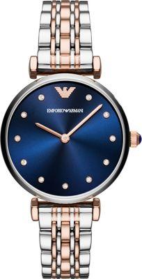 Emporio Armani Women's Dress Watch Silver - Emporio Armani Watches