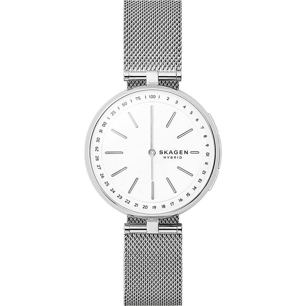 Skagen Signatur Connected Hybrid Watch Silver - Skagen Wearable Technology