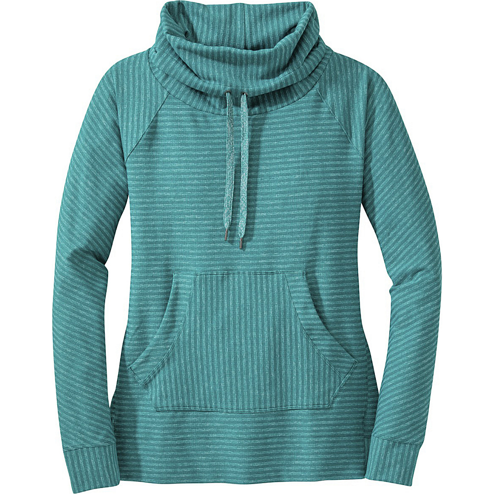 Outdoor Research Womens Mikala L/S Shirt L - Atlantis/Sea - Outdoor Research Womens Apparel - Apparel & Footwear, Women's Apparel