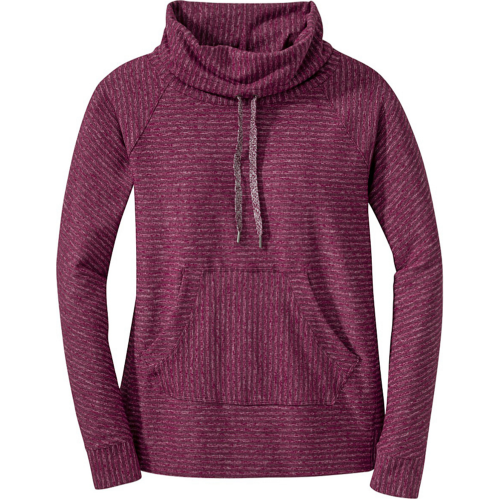 Outdoor Research Womens Mikala L/S Shirt S - Pinot/Raspberry - Outdoor Research Womens Apparel - Apparel & Footwear, Women's Apparel