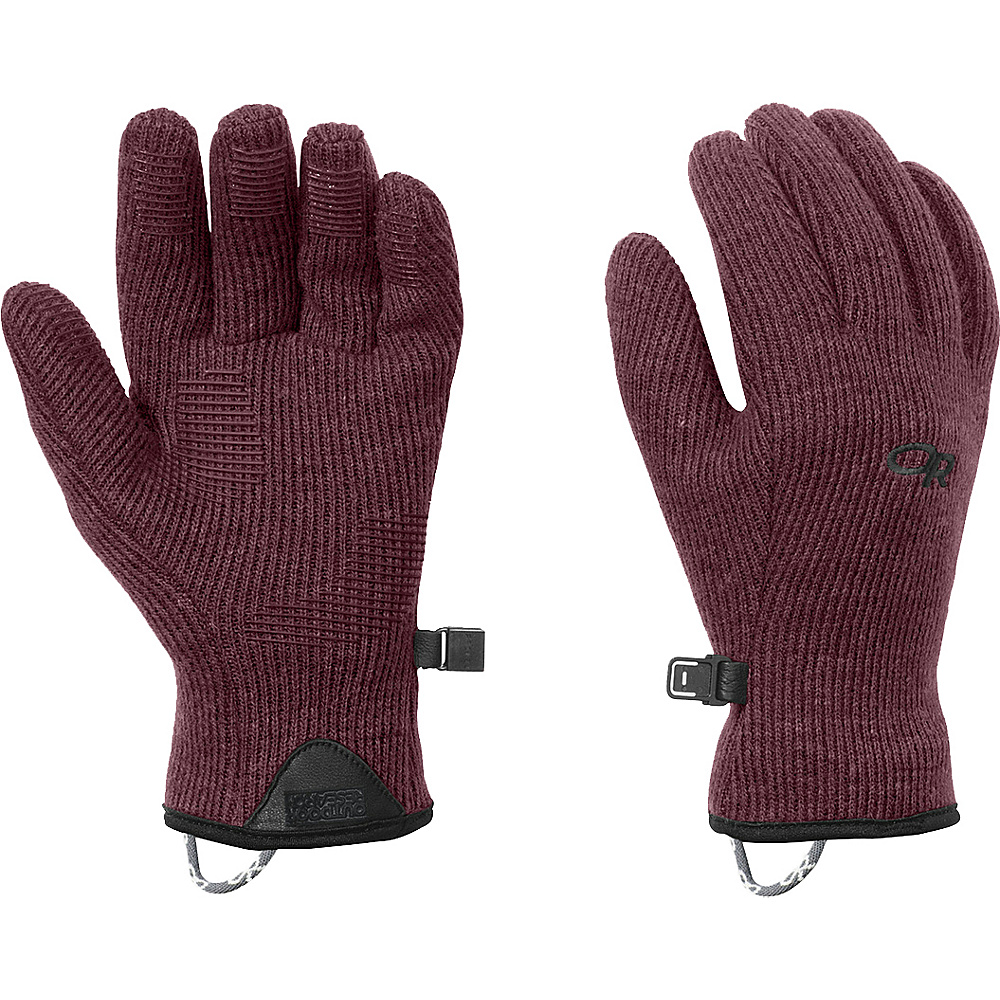 Outdoor Research Womens Flurry Sensor Gloves M - Pinot - Outdoor Research Hats/Gloves/Scarves - Fashion Accessories, Hats/Gloves/Scarves