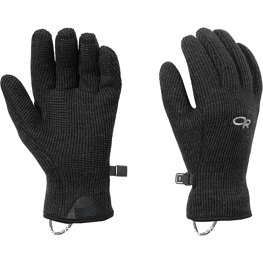 Outdoor Research Womens Flurry Sensor Gloves L - Black - Outdoor Research Hats/Gloves/Scarves - Fashion Accessories, Hats/Gloves/Scarves