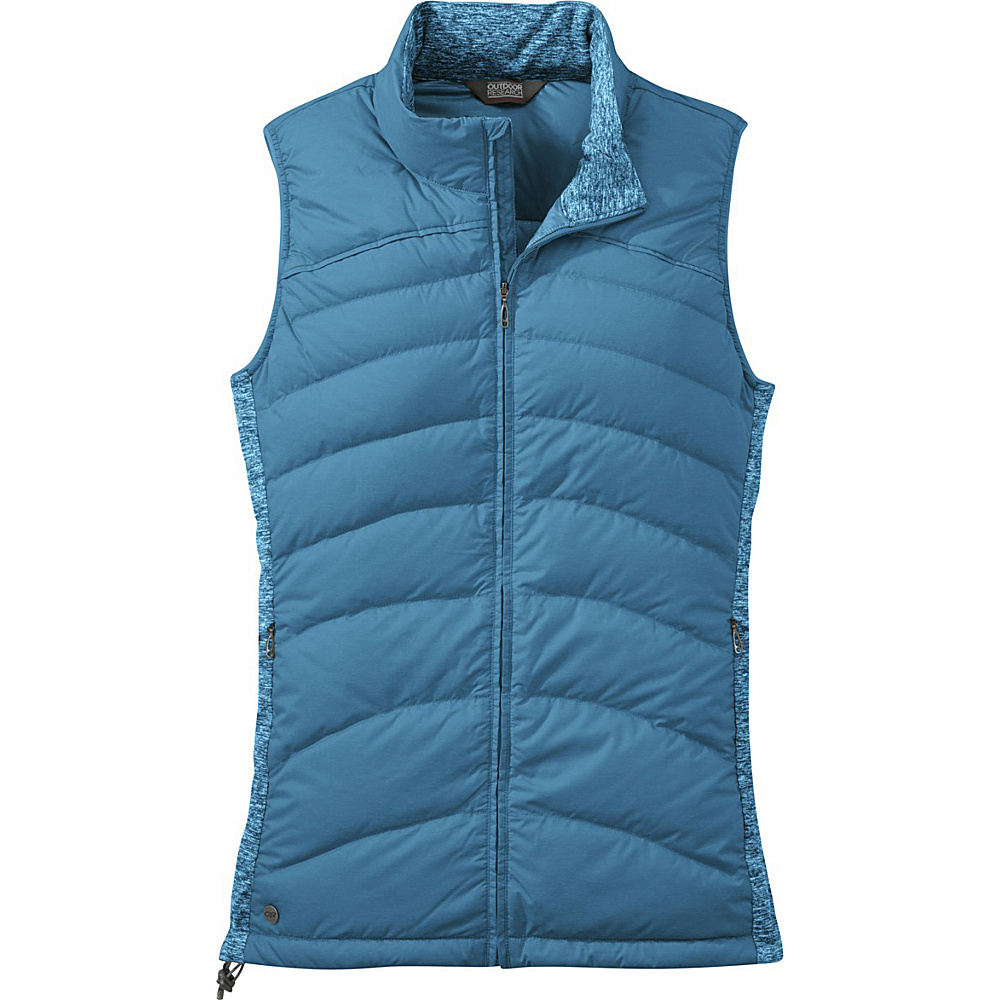 Outdoor Research Womens Insulated Plaza Down Vest M - Oasis - Outdoor Research Womens Apparel - Apparel & Footwear, Women's Apparel