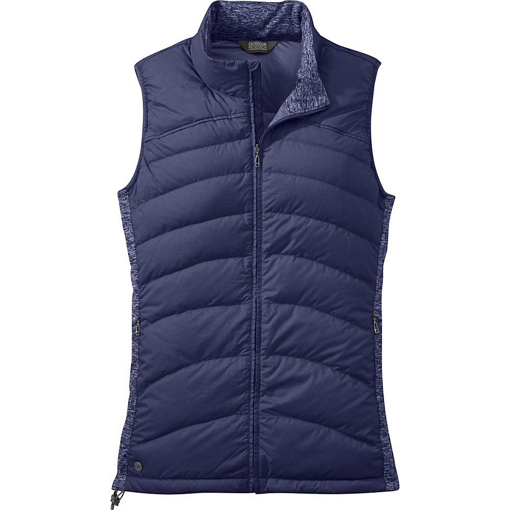 Outdoor Research Womens Insulated Plaza Down Vest S - Blue Violet - Outdoor Research Womens Apparel - Apparel & Footwear, Women's Apparel