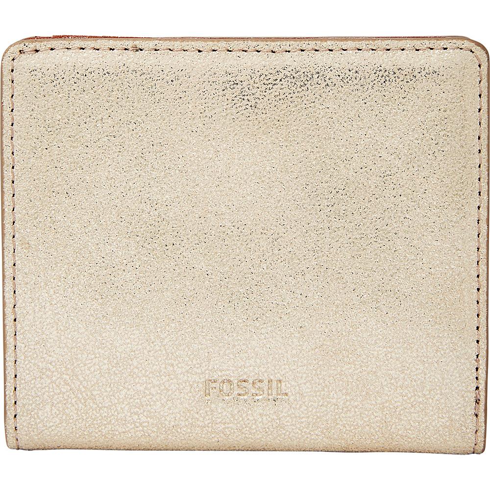 Fossil Emma RFID Mini Wallet Gold - Fossil Womens Wallets - Women's SLG, Women's Wallets