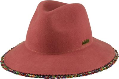 Hatch Hats Fringe Hat One Size - Rose Pink - Hatch Hats Hats/Gloves/Scarves