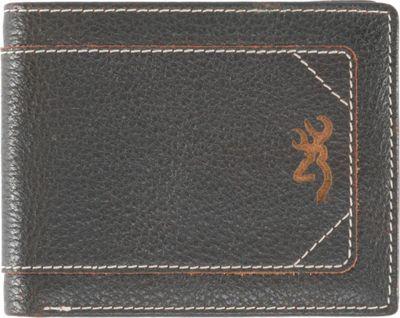 Browning Road Warrior Bi-Fold Wallet Brown - Browning Men's Wallets