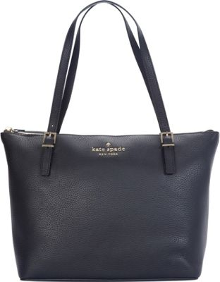 kate spade new york Watson Lane Leather Small Maya Shoulder Bag Black - kate spade new york Designer Handbags