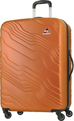 Kamiliant Kanyon 28 inch Hardside Checked Spinner Luggage Sand - Kamiliant Hardside Checked