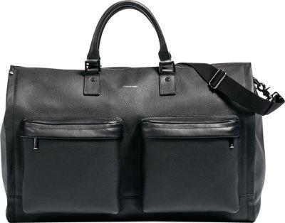 Hook & Albert Leather Gen. 2 Garment Weekender Bag Black - Hook & Albert Garment Bags