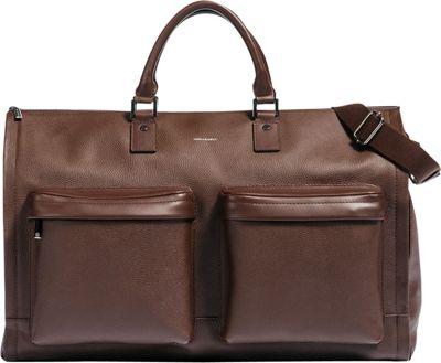 Hook & Albert Leather Gen. 2 Garment Weekender Bag Brown - Hook & Albert Garment Bags