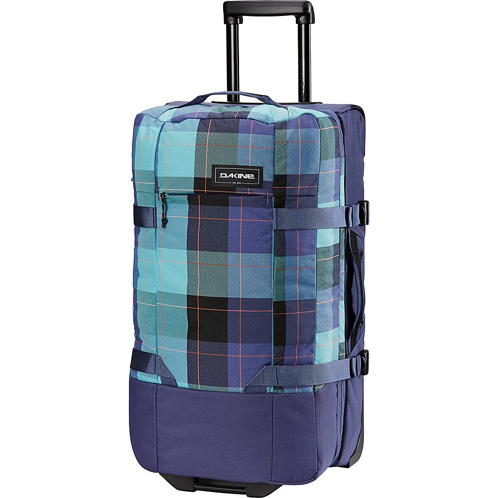 DAKINE Split Roller EQ 28 75L Wheeled Luggage Aquamarine - DAKINE Softside Checked - Luggage, Softside Checked