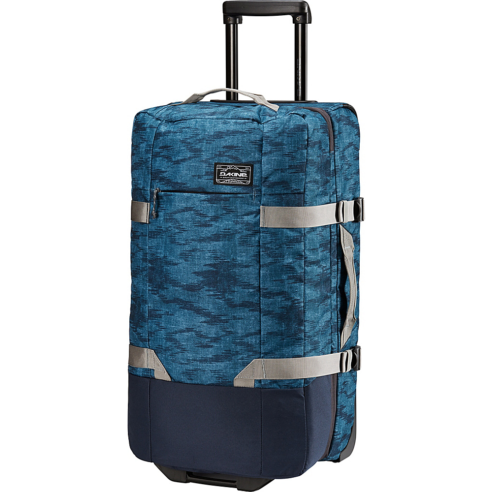 DAKINE Split Roller EQ 28 75L Wheeled Luggage Stratus - DAKINE Softside Checked - Luggage, Softside Checked