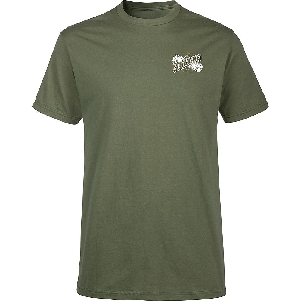 DAKINE Mens Crosscut T-Shirt M - Army - DAKINE Mens Apparel - Apparel & Footwear, Men's Apparel