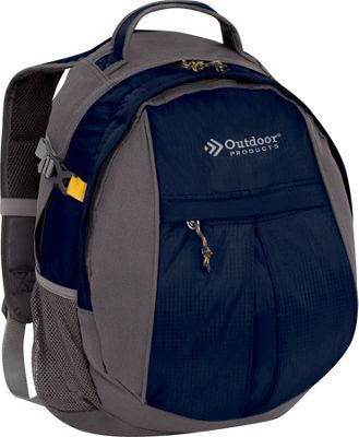 Outdoor Products Contender Day Pack Backpack Navy - Outdoor Products Day Hiking Backpacks