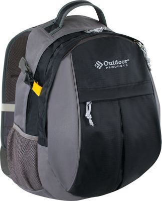 Outdoor Products Contender Day Pack Backpack Black - Outdoor Products Day Hiking Backpacks