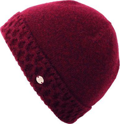 Helen Kaminski Baye Hat One Size - Merlot - Helen Kaminski Hats/Gloves/Scarves