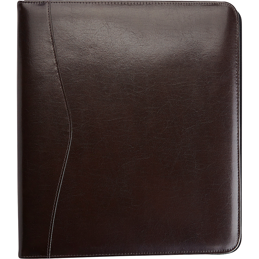 Royce Leather Executive One and a Half Inch Ring Binder Chestnut - Royce Leather Business Accessories - Work Bags & Briefcases, Business Accessories
