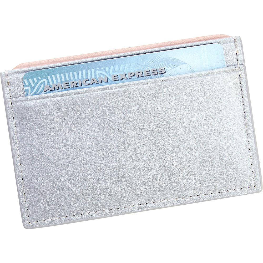 Royce Leather RFID Blocking Executive Credit Card Case Silver - Royce Leather Business Accessories - Work Bags & Briefcases, Business Accessories