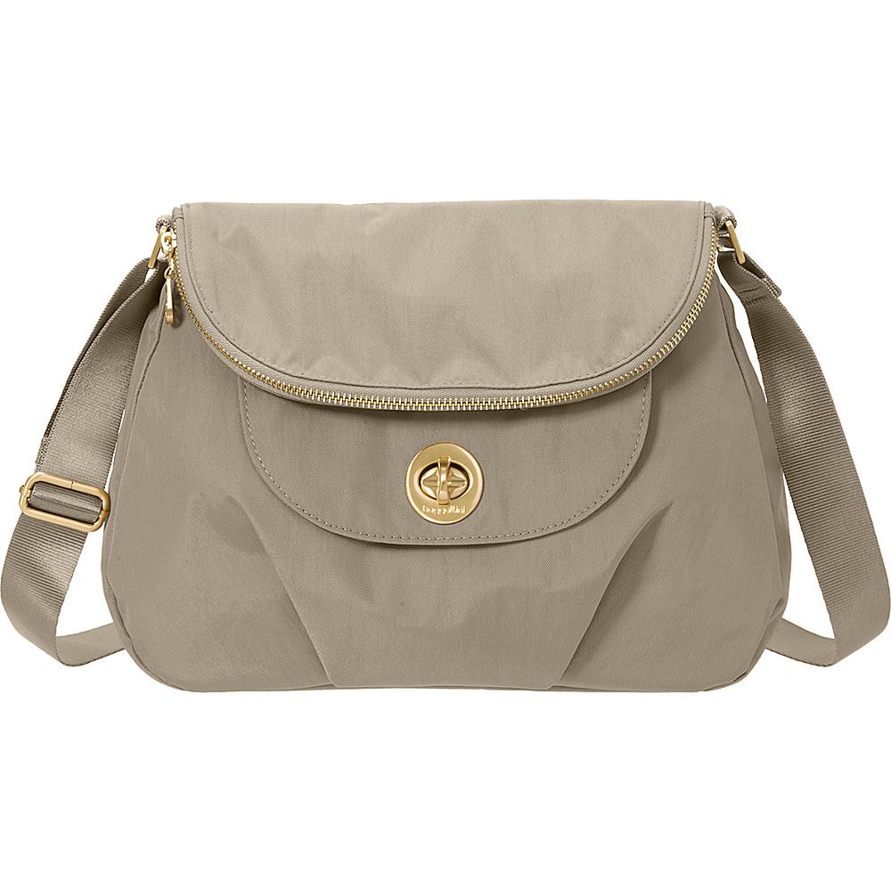 baggallini Kuala Flap Zip Hobo Beach - baggallini Fabric Handbags - Handbags, Fabric Handbags