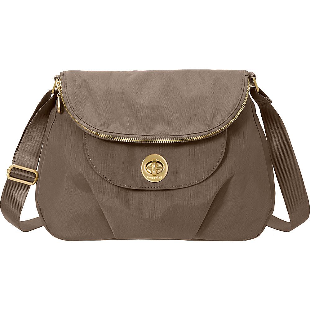 baggallini Kuala Flap Zip Hobo Portobello - baggallini Fabric Handbags - Handbags, Fabric Handbags
