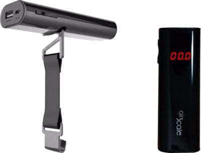 Oaxis Power Bank Charger with Luggage Scale Black - Oaxis Portable Batteries & Chargers
