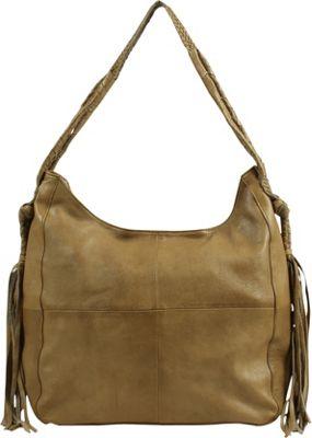 Day & Mood Elm Hobo Pale Khaki - Day & Mood Leather Handbags
