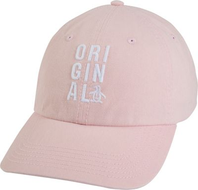 Original Penguin Baseball Cap One Size - Impatiends Pink - Original Penguin Hats/Gloves/Scarves