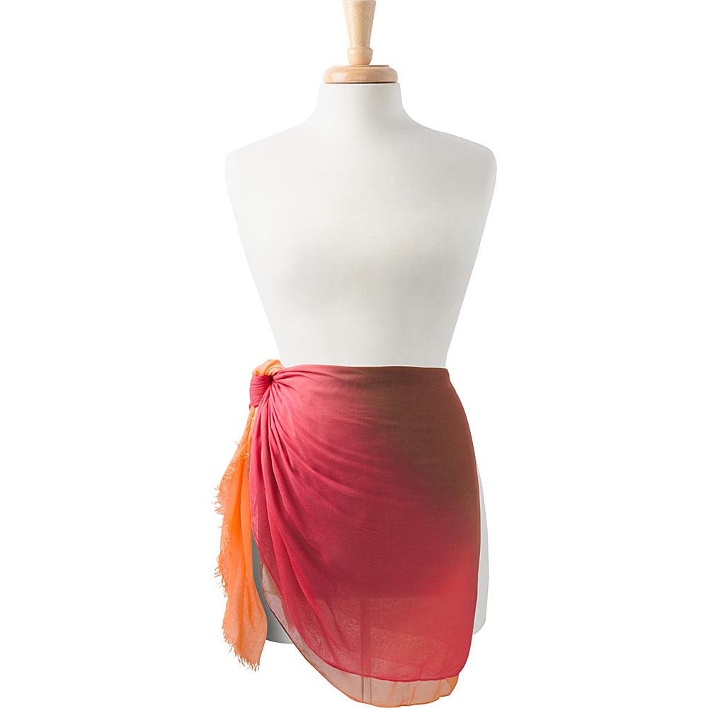 PrAna Bronnie Sarong Orange Haze - PrAna Hats/Gloves/Scarves - Fashion Accessories, Hats/Gloves/Scarves
