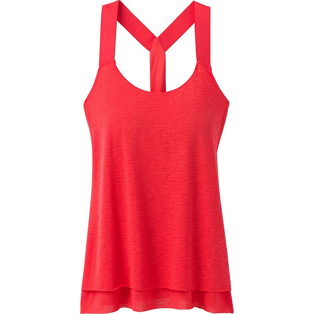 PrAna Tonga Tank XL - Carmine Pink - PrAna Womens Apparel - Apparel & Footwear, Women's Apparel