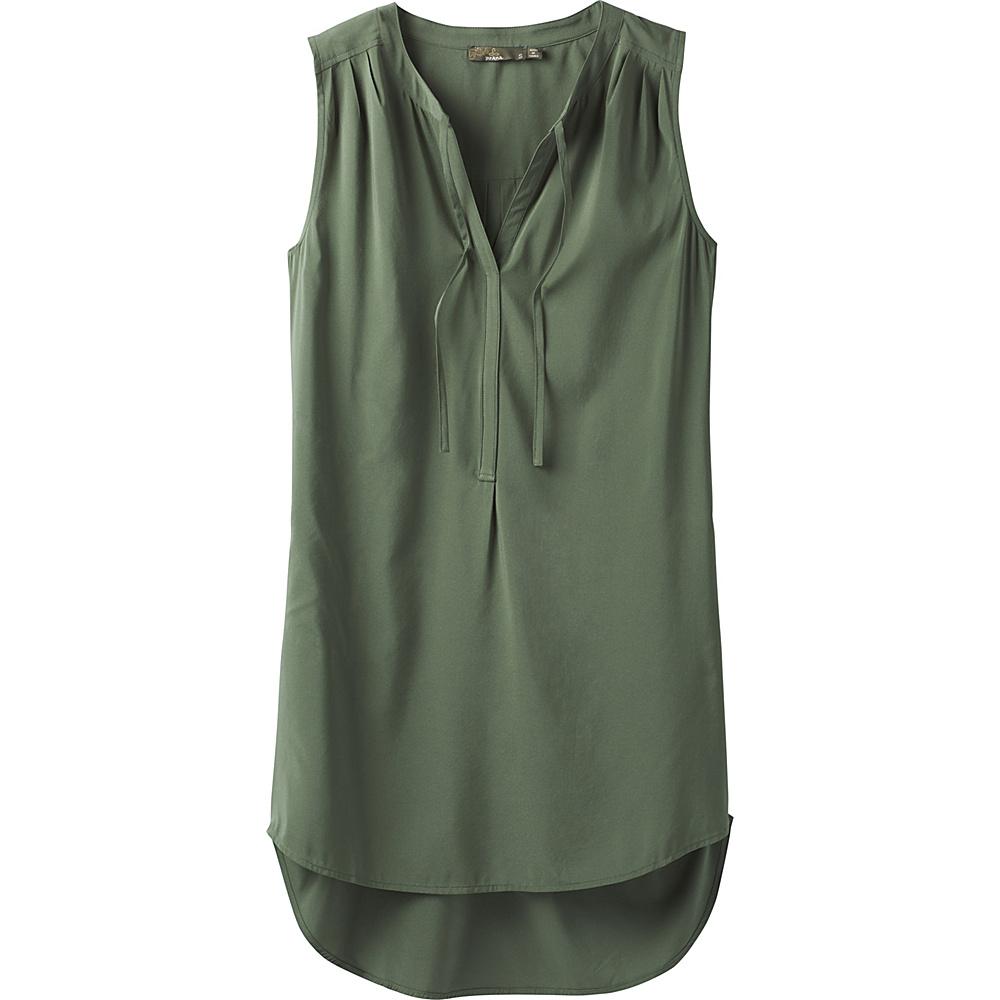 PrAna Natassa Tunic XS - Forest Green - PrAna Womens Apparel - Apparel & Footwear, Women's Apparel