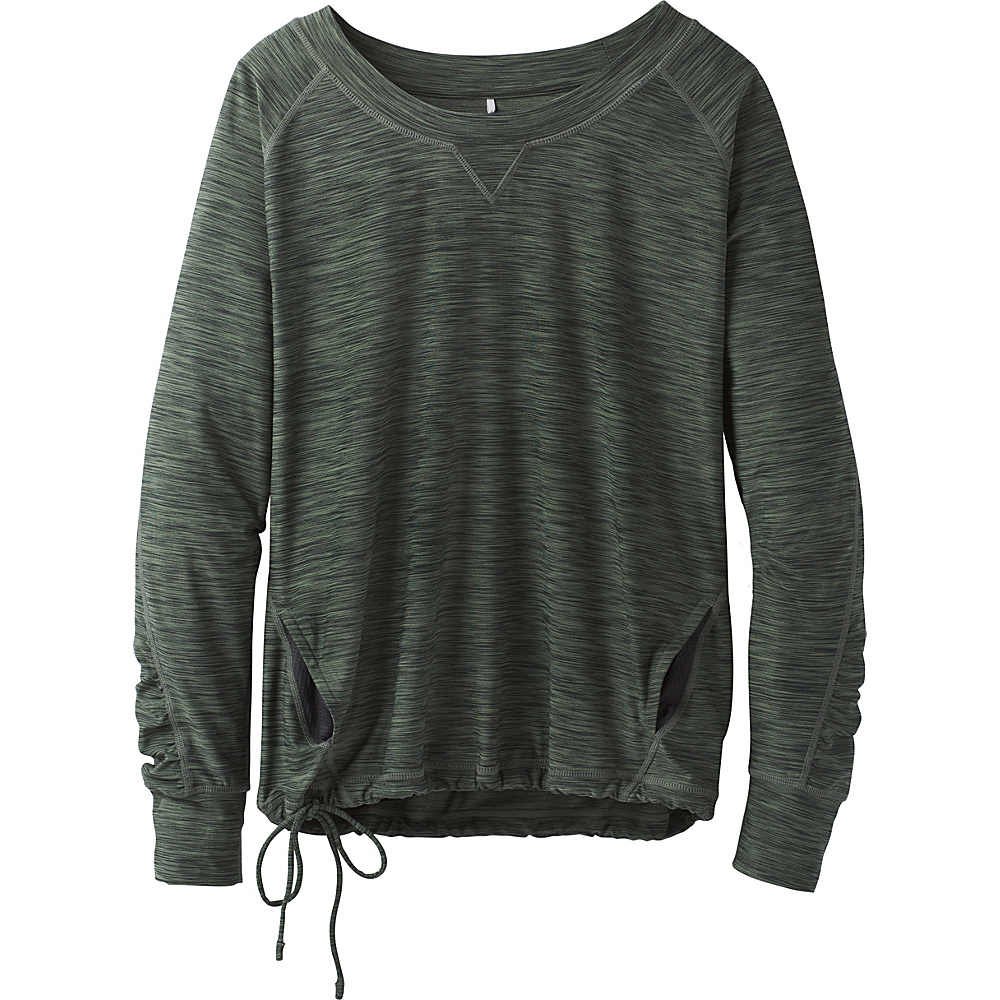 PrAna Philipa Top S - Forest Green - PrAna Womens Apparel - Apparel & Footwear, Women's Apparel