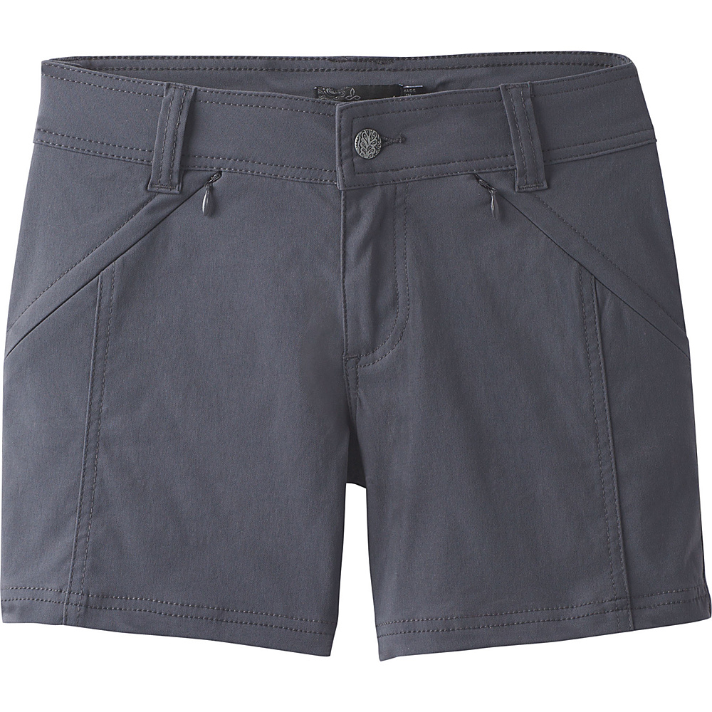 PrAna Hallena Short 4 - Coal - PrAna Womens Apparel - Apparel & Footwear, Women's Apparel