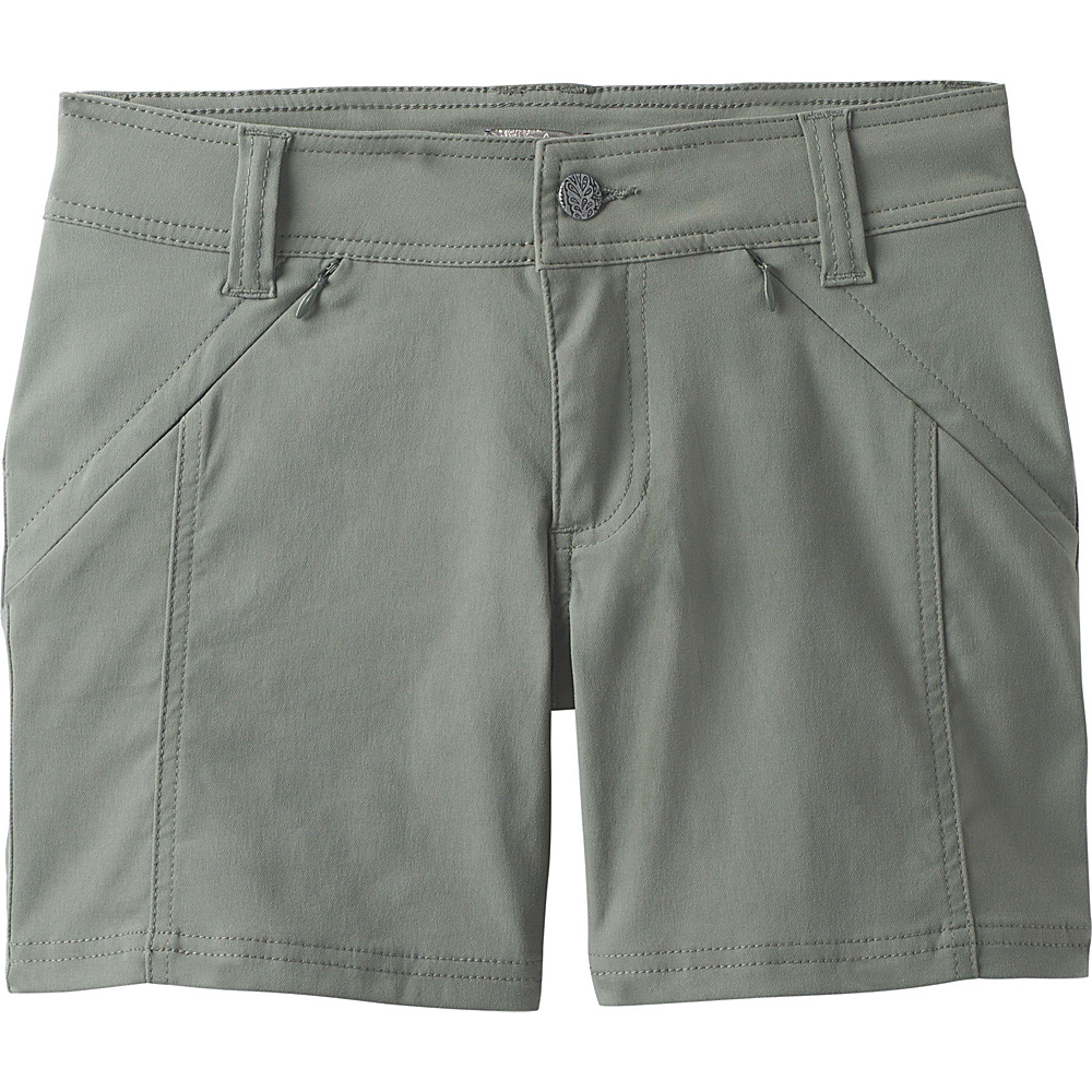 PrAna Hallena Short 10 - Green Jasper - PrAna Womens Apparel - Apparel & Footwear, Women's Apparel