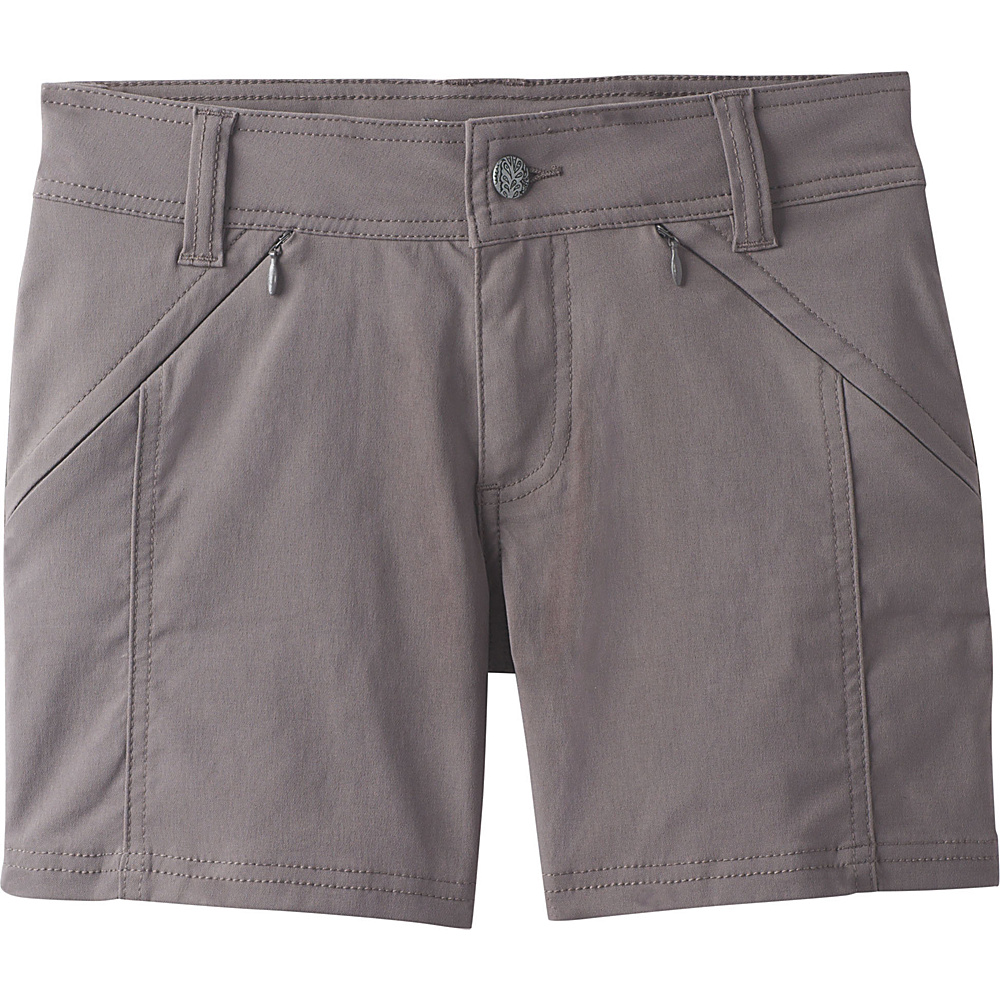 PrAna Hallena Short 8 - Moonrock - PrAna Womens Apparel - Apparel & Footwear, Women's Apparel