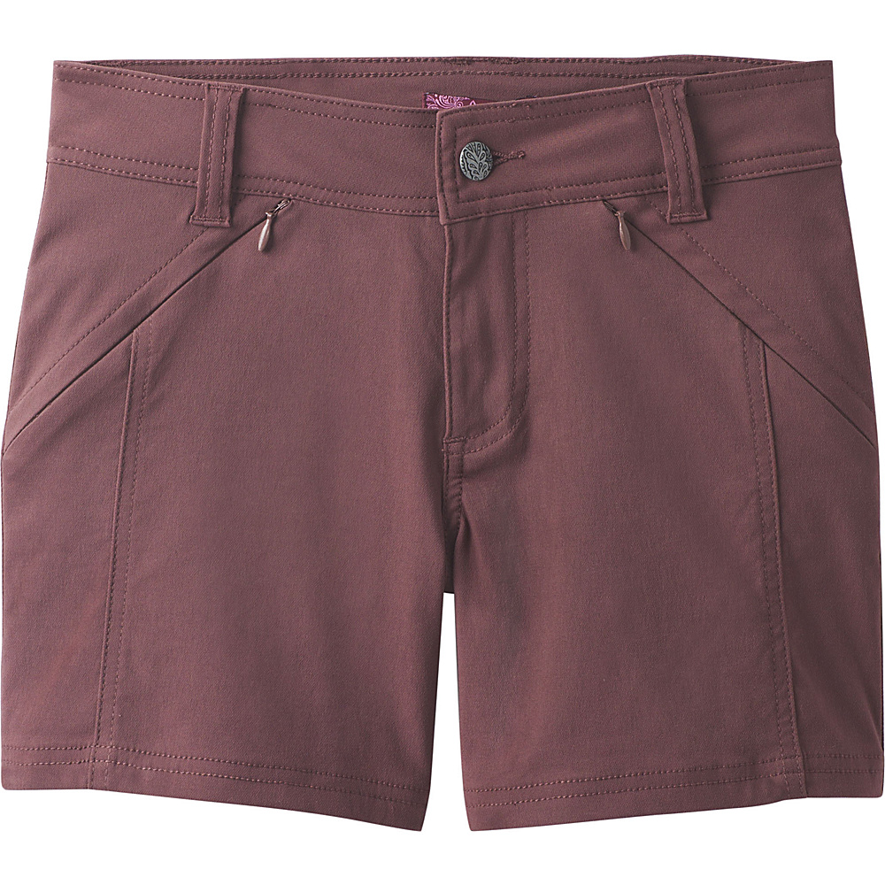 PrAna Hallena Short 6 - Thistle - PrAna Womens Apparel - Apparel & Footwear, Women's Apparel