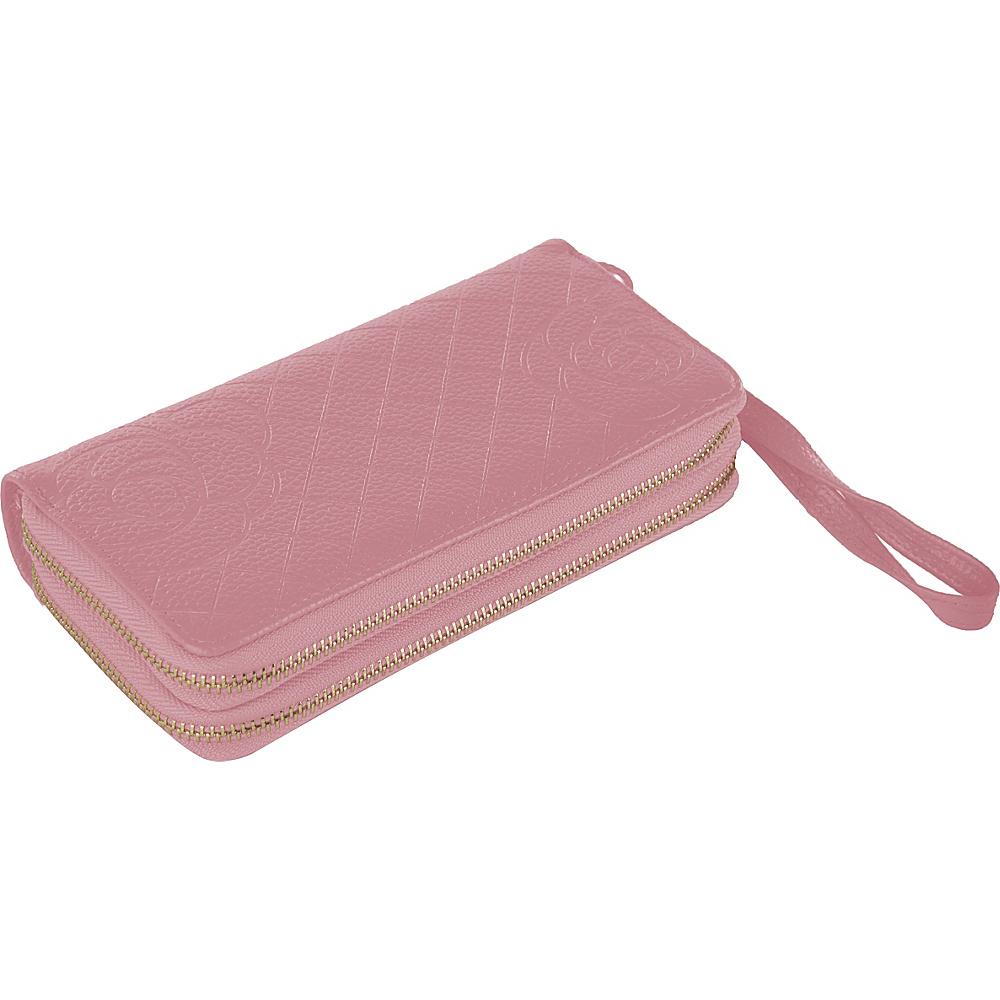 MKF Collection by Mia K. Farrow Honey Wristlet Wallet Pink - MKF Collection by Mia K. Farrow Womens Wallets - Women's SLG, Women's Wallets