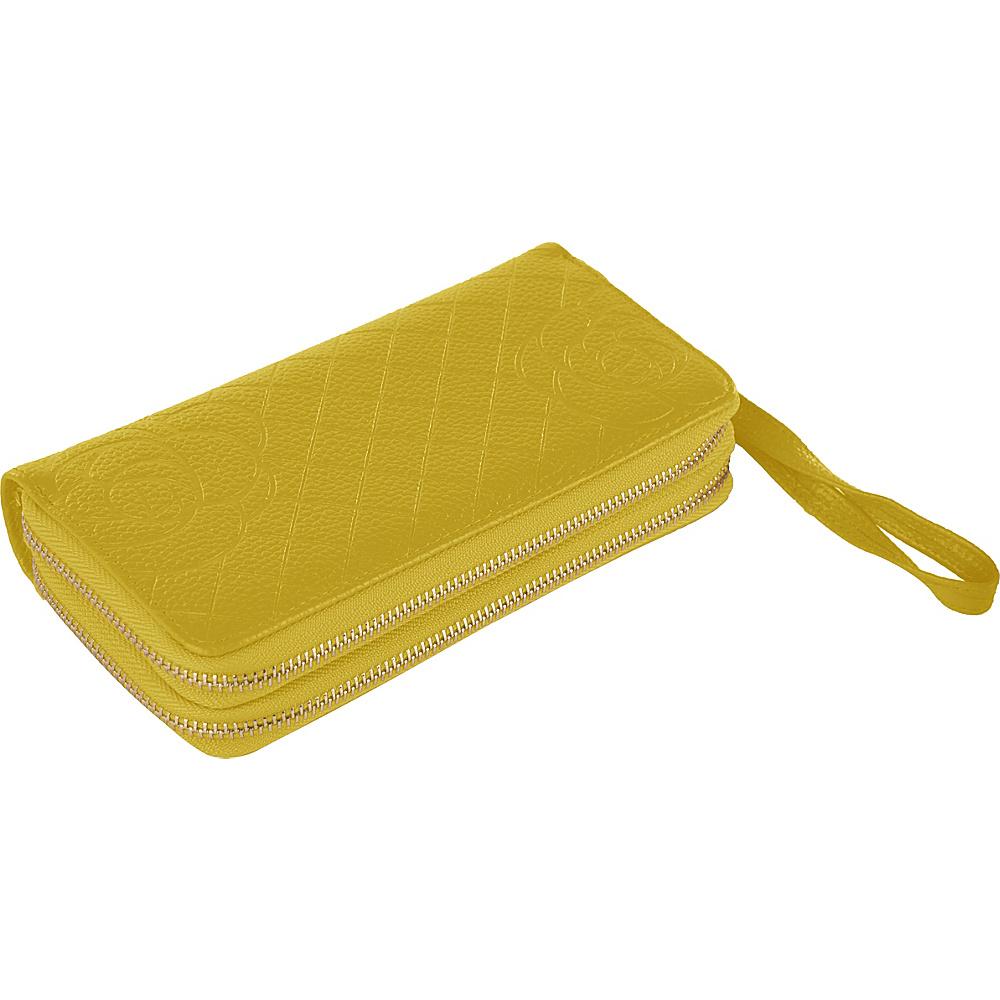 MKF Collection by Mia K. Farrow Honey Wristlet Wallet Yellow - MKF Collection by Mia K. Farrow Womens Wallets - Women's SLG, Women's Wallets