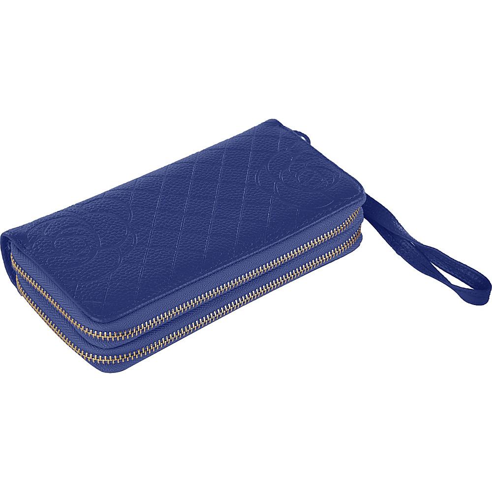 MKF Collection by Mia K. Farrow Honey Wristlet Wallet Blue - MKF Collection by Mia K. Farrow Womens Wallets - Women's SLG, Women's Wallets