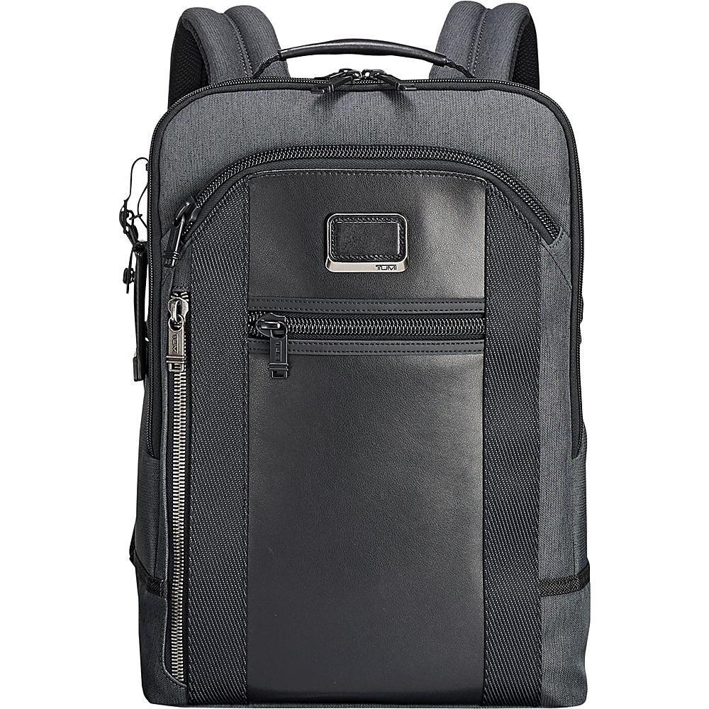 Tumi Men's Alpha Bravo Davis Backpack, Anthracite