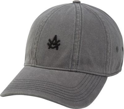 Image of A Kurtz 7 Flex Baseball Cap One Size - Gunmetal - A Kurtz Hats/Gloves/Scarves