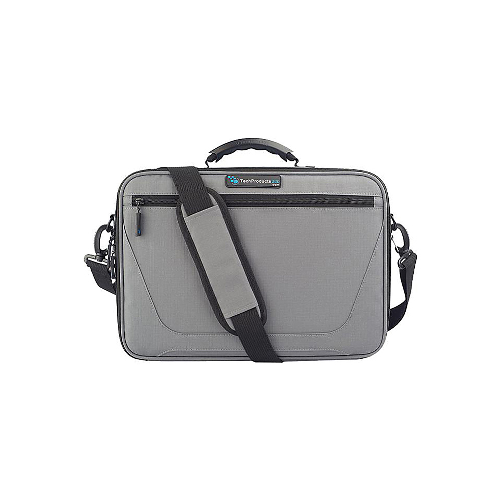 "Techproducts 360 Work In Vault 11"" Case Grey Techproducts 360 Messenger Bags"