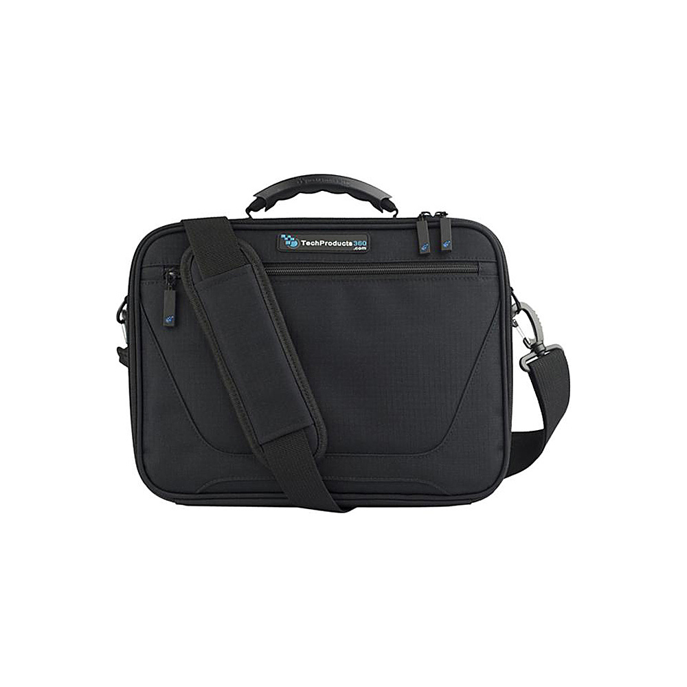 "Techproducts 360 Work In Vault 11"" Case Black Techproducts 360 Messenger Bags"