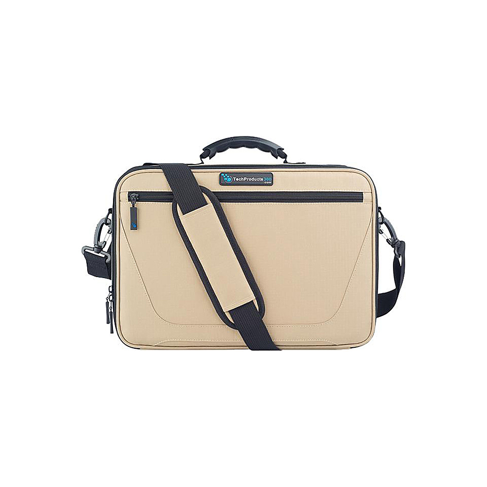 "Techproducts 360 Work In Vault 11"" Case Khaki Techproducts 360 Messenger Bags"