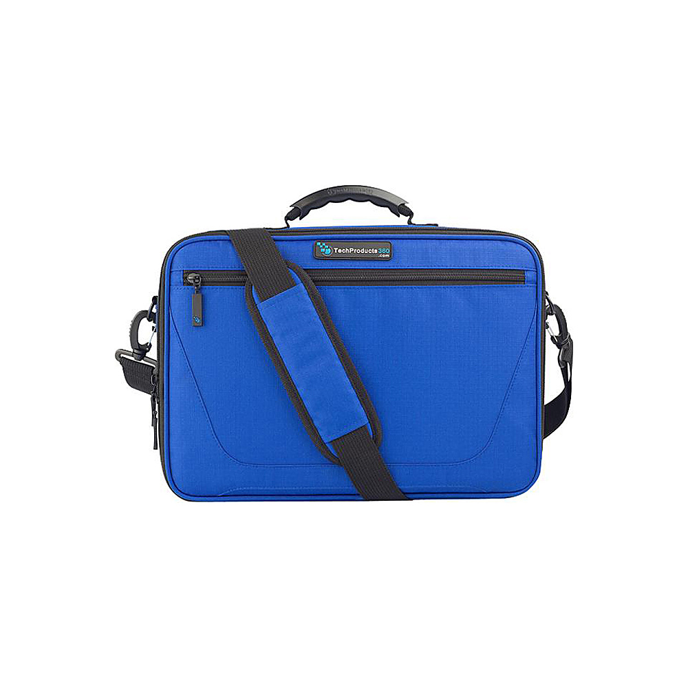 "Techproducts 360 Work In Vault 11"" Case Blue Techproducts 360 Messenger Bags"